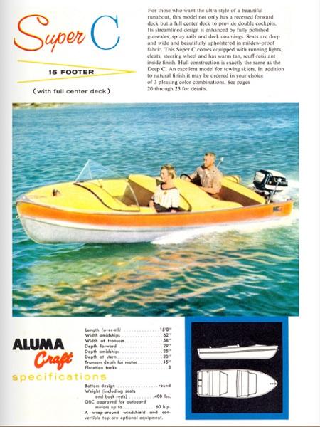 Alumacraft 1957 catalogue 450X600